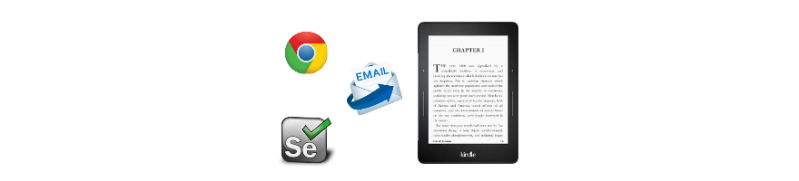 Send to Kindle via email – using browser automation